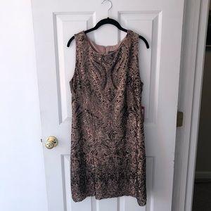 NWT Vince Camuto embellished sheath dress